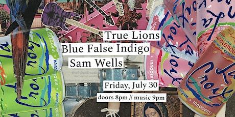 LIVE AT THE BLACK BOX: True Lions/Sam Wells/Blue False Indigo tickets