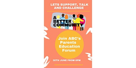 ABC Parents  Education Forum tickets