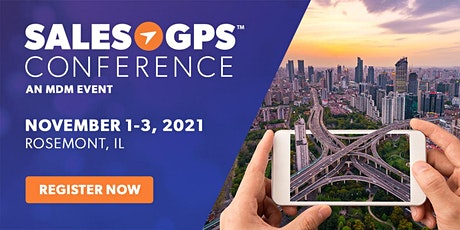 Sales GPS Conference 2021 tickets