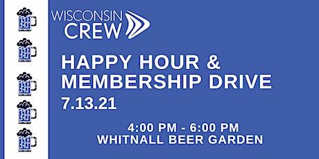 WCREW Happy Hour & Membership Drive tickets
