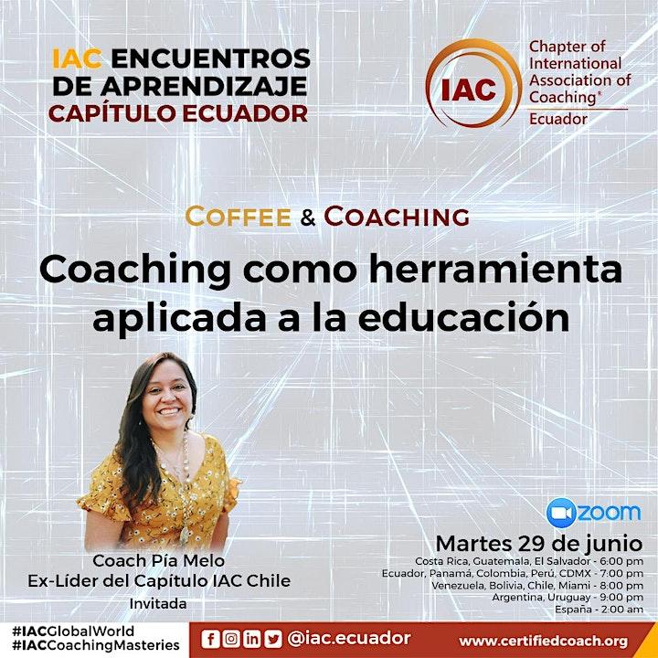 Imagen de COFFEE & COACHING - Coaching como herramienta aplicada a la educación