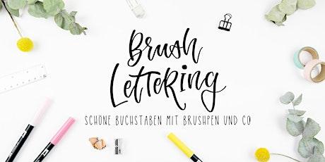 Workshop: Brushlettering von A-Z Tickets