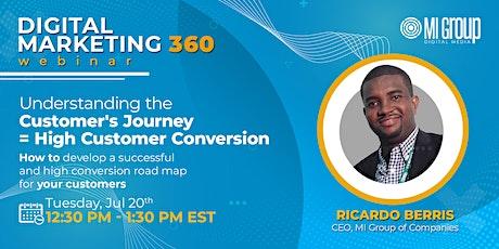 Digital Marketing 360 Webinar: Understanding the Customer Journey tickets