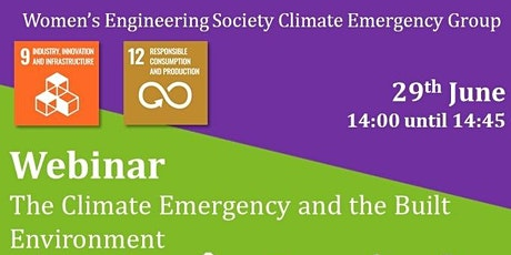 The Climate Emergency and the Built Environment tickets