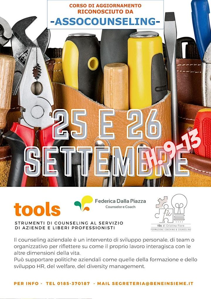 Immagine Tools: strumenti di counseling aziendale