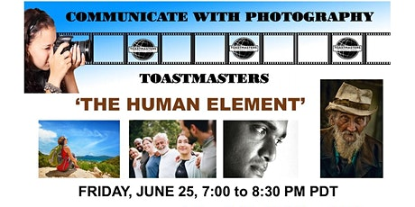 Communicate with Photography Toastmasters Meeting tickets