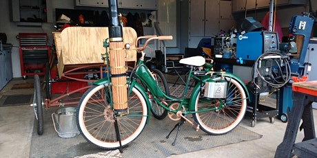 The Steam Bicycle - Learn about how steam revolutionized travel  late 1800s tickets