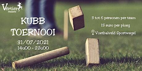 kubb toernooi billets