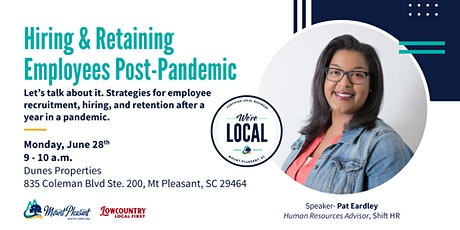 Town Proud Workshop: Hiring & Retaining Employees Post-Pandemic tickets