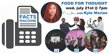 Facts Machine: Food for Thought tickets