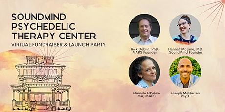 Psychedelic Therapy Center Virtual Fundraiser & Launch Party tickets