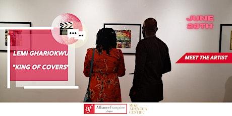 AF Lagos presents: MEET THE ARTIST LEMI GHARIOKWU (screening + talk) tickets