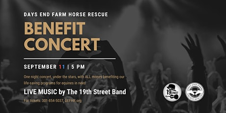 Days End Farm Horse Rescue Benefit Concert tickets