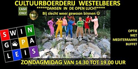 Swingpaleis Cultuurboerderij 29 mei 2022  Westelbeers tickets