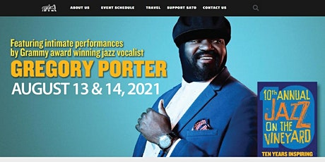 Jazz On the Vineyard 10! An afternoon with Gregory Porter tickets