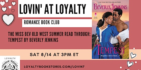 Lovin' at Loyalty Book Club chats TEMPEST tickets
