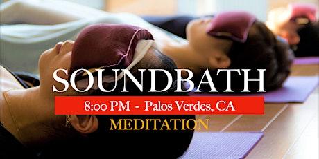 Saturday SOUNDBATH Meditation tickets