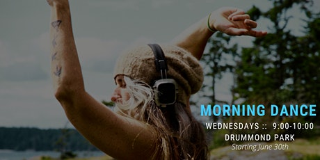 OUTSIDE Morning 5Rhythms Dance at Drummond Park with Shauna tickets