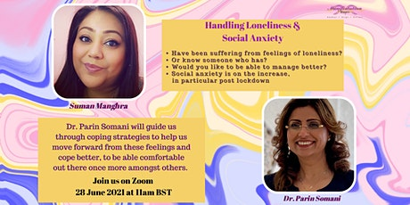 Handling Loneliness & Social Anxiety tickets