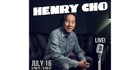 Henry Cho: Live Stand-up Comedy tickets