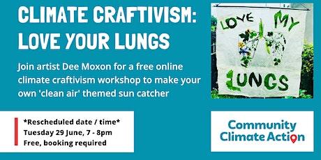 Love Your Lungs - Bristol Craftivist Collective - Rescheduled Meeting 1 tickets