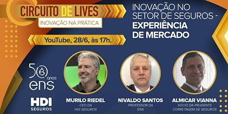 3º Encontro Inovação no Setor de Seguros - Experiência de Mercado ingressos