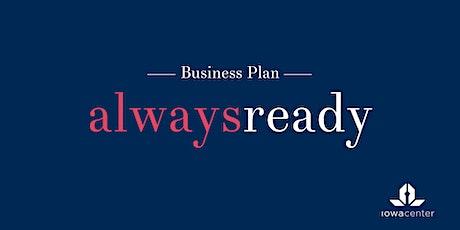 Always Ready: Business Plan biglietti