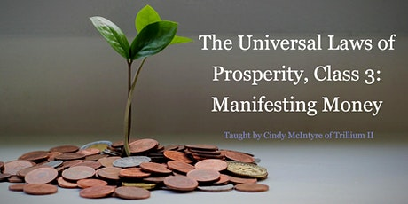 The Universal Laws of Propserity, Class 3: Manifesting Money tickets