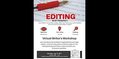 HNN Writers' Workshop: Editing Clarity tickets