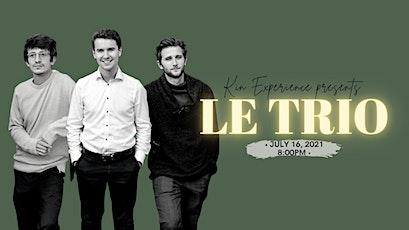 En Concert *Jazz Edition*: Le Trio tickets