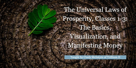 The Universal Laws of Prosperity, Classes 1-3 tickets