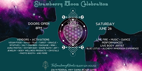 Strawberry Moon Celebration tickets