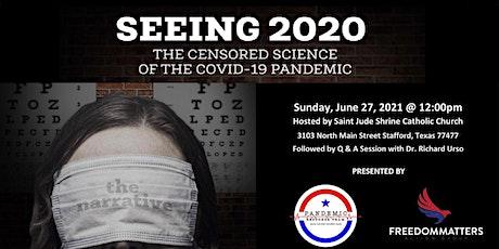 Seeing2020 Documentary Screening tickets