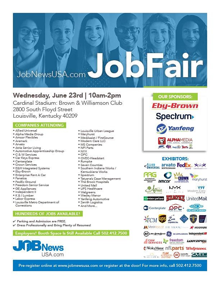 JobNewsUSA.com Louisville Job Fair image