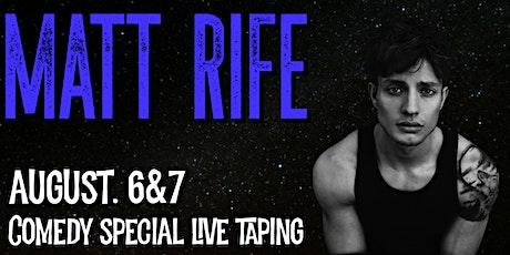 Matt Rife Standup Special tickets