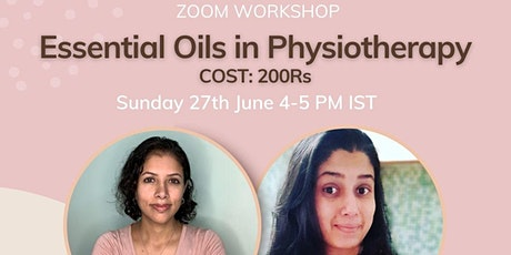 Essential Oils for Physiotherapists tickets