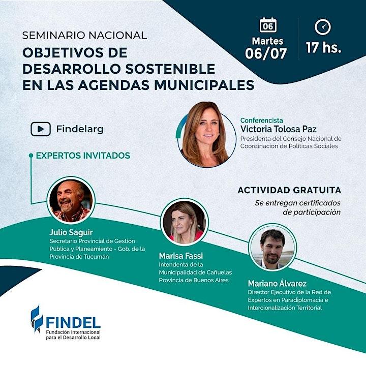 Imagen de OBJETIVOS DE DESARROLLO SOSTENIBLE EN LAS AGENDAS MUNICIPALES
