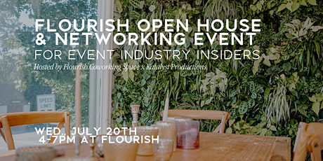 Flourish Open House & Networking for Event Industry Insiders tickets