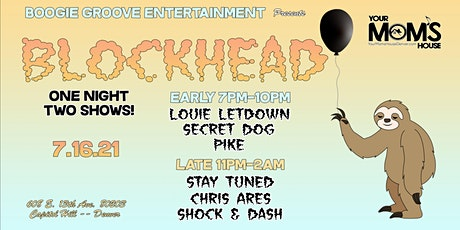 Blockhead w/ STAY TUNED, Chris Ares, & Shock & Dash (Late Show) tickets