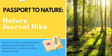 Passport to Nature Kids' Activity: Nature Journal Hike tickets