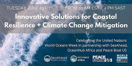 Innovative Solutions for Coastal Resilience and Climate Change Mitigation tickets