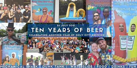 Holy City Brewing's 10th Anniversary tickets
