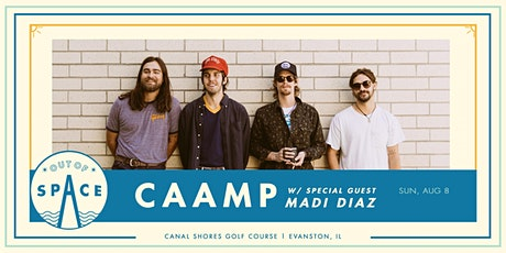 SOLD OUT: Out of Space 2021: Caamp w/ Madi Diaz at Canal Shores tickets