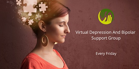 Virtual Depression And Bipolar Support Group (Friday's) tickets
