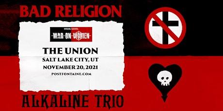 BAD RELIGION/ALKALINE TRIO tickets