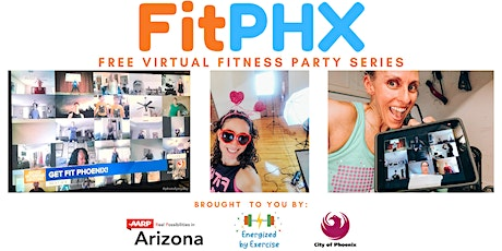 FitPHX Free Virtual Fitness Party Series tickets