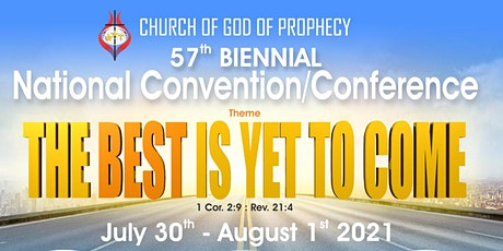 57th Biennial National Convention/Conference tickets