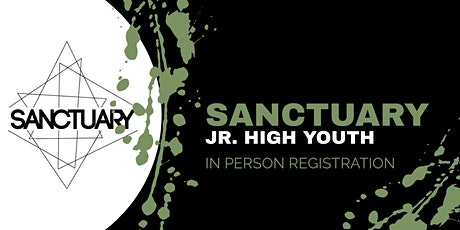 Jr High In Person Registration tickets