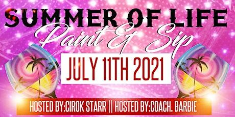 Summer of Life Paint & Sip tickets