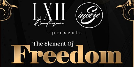 The Element of Freedom tickets